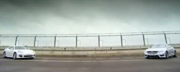 Un altfel de duel: Mercedes CL63 AMG versus Porsche Panamera Turbo