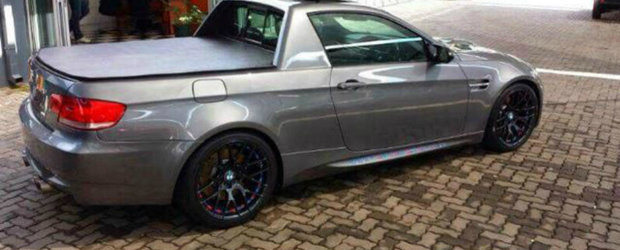 Un altfel de tuning: BMW M3 Coupe transformat in... M3 Pick-Up