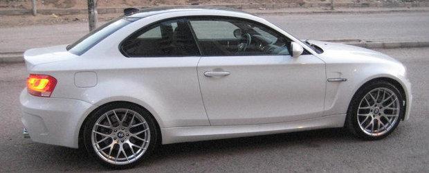 Un altfel de tuning: BMW Seria 1 diesel cu motor V8 de M3