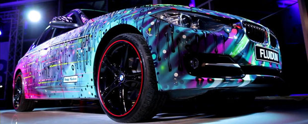 Un altfel de tuning: BMW-ul Seria 3 transformat... in Art Car