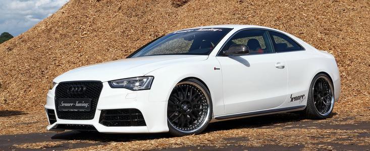 Un altfel de tuning: De la Audi S5 la RS5 Coupe