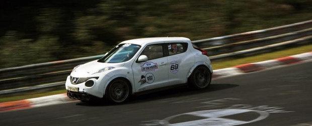 Un altfel de tuning: Nissan Juke cu motor de GT-R si 800 cai putere