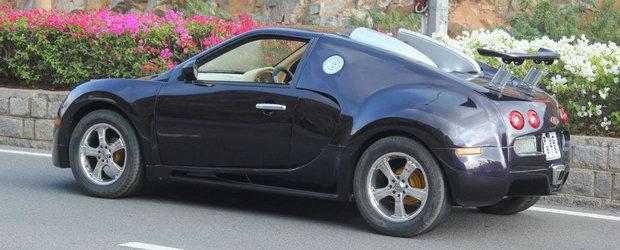 Un altfel de tuning: Suzuki-ul care se crede... Bugatti Veyron