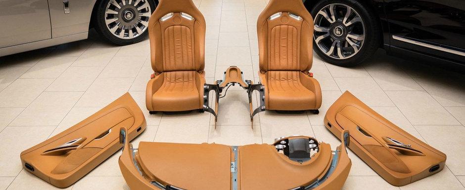 Un american isi vinde interiorul de pe Veyron. Cat trebuie sa platesti pe scaune, bord si fetele de la usi
