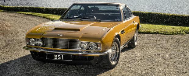 Un Aston Martin DBS din 1970 condus de Roger Moore a fost vandut la licitatie