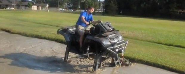 Un ATV ceva mai... ridicat