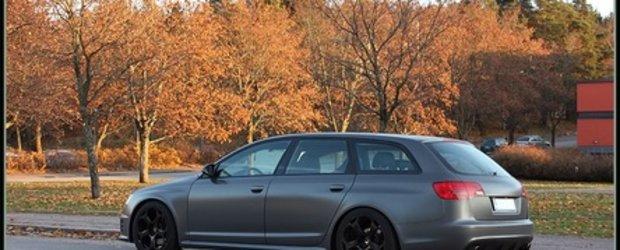 Un Audi A6 Avant cu personalitati multiple...