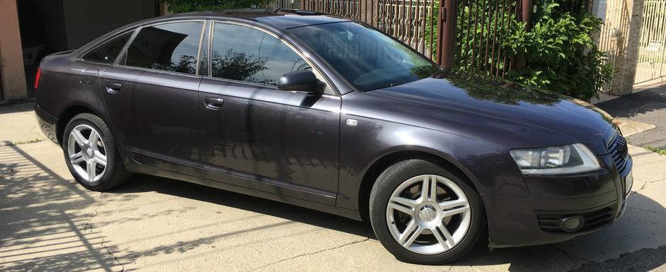 Un Audi A6 cu 500.000 de KM la bord e de vanzare in Arges. Merita banii?