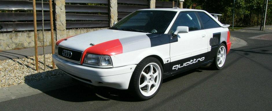 Un Audi S2 cu motor W12 e de vanzare in Ungaria. Cat costa