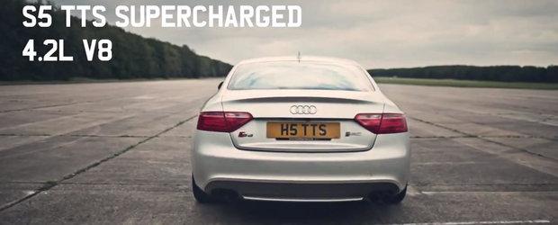 Un Audi S5 la care sa visezi zi si noapte. Exemplarul asta are 600 CP si atinge 296 km/h!