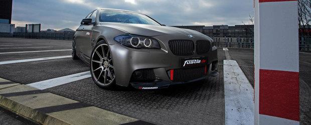 Un BMW 550i cu 570 CP sub capota, de la Fostla si PP Performance