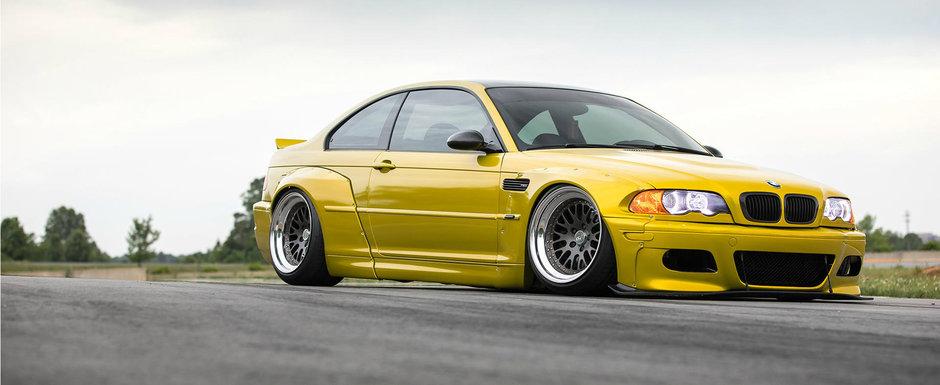 Un BMW ca ASTA n-ar trebui sa existe in lume. Puristii vor face infarct la vederea pozelor