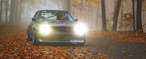 Un BMW E30 cu motor de Toyota Supra ne arata ca polonezii stiu sa faca drifturi serioase