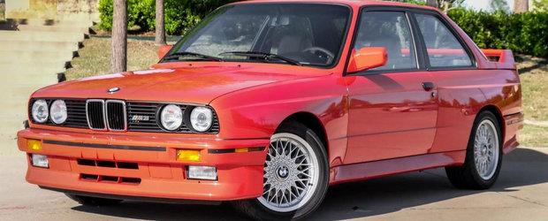 Un BMW M3 care i-a apartinut lui Paul Walker a fost scos la vanzare