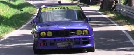 Un BMW M3 din Norvegia are motor de 1300 CP si merge de-a latu' in orice treapta de viteza. VIDEO
