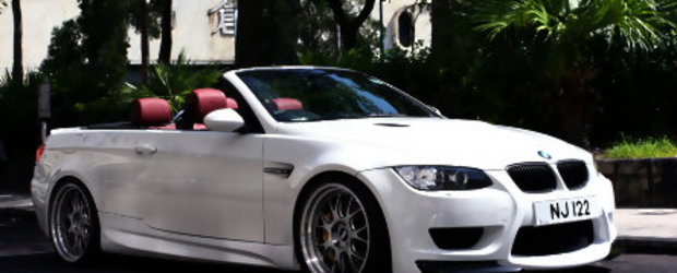 Un BMW M3 E93 gata de vacanta