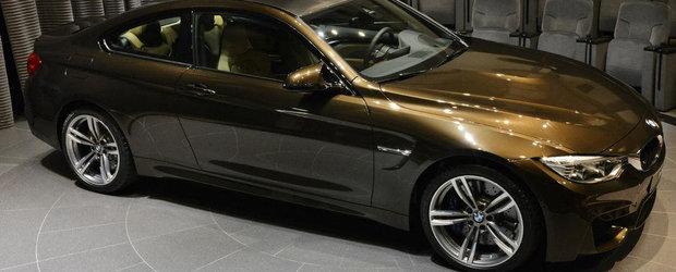 Un BMW M4 cu o configuratie unica