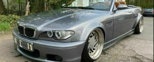 Un BMW Seria 3 E36 din Germania se crede M3 E46. FOTO ca sa te convingi si singur