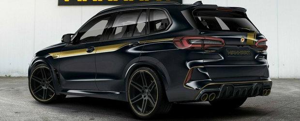 Un BMW tunat de Manhart se vinde acum la pret de...Bentley Bentayga. SUV-ul are 723 CP