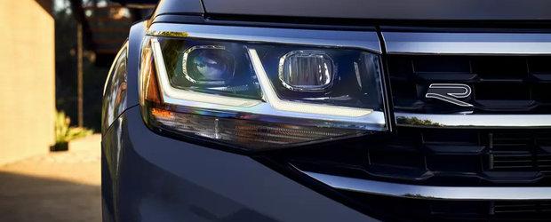 Un BMW X6 pentru toate buzunarele: Cat costa noul Atlas Cross Sport, primul SUV Coupe de la Volkswagen