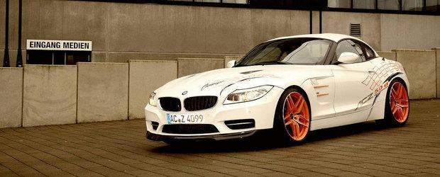 Un BMW Z4 cu motor de M550d si piese de M3, de la AC Schnitzer