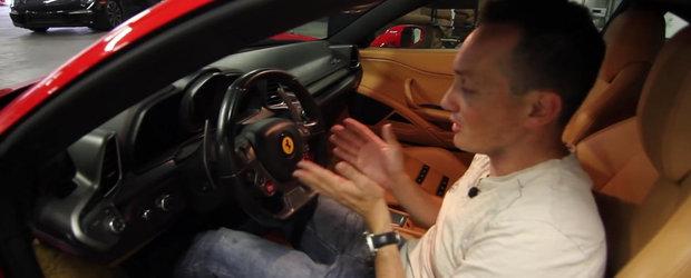 Un buton de plastic sau un abtibild de volan costa 4500 de dolari la un Ferrari 458