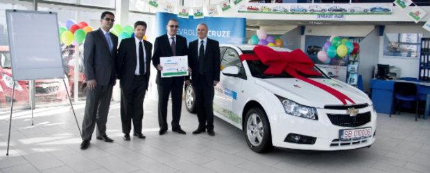 Un Chevrolet Cruze pentru tinerii din Organizatia SOS Satele Copiilor din Sibiu