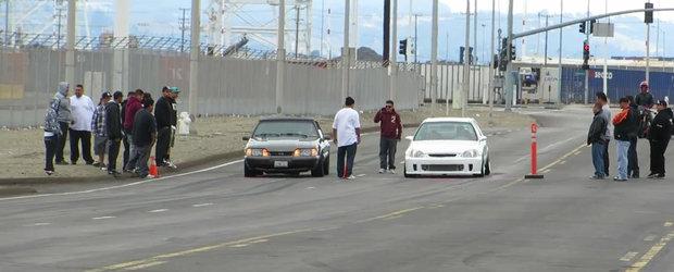 Un Civic Turbo este mai rapid ca un Ford Mustang modificat