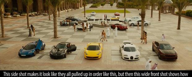 Un clip de 20 de minute ne arata 1337 de greseli si aberatii din Fast and Furious 7