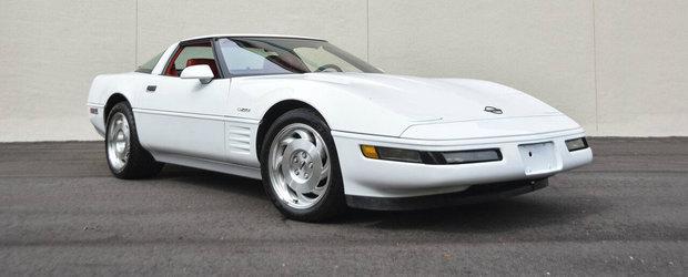 Un Corvette ZR1 din '93 a fost scos la vanzare in SUA. Cat costa exclusivista masina americana
