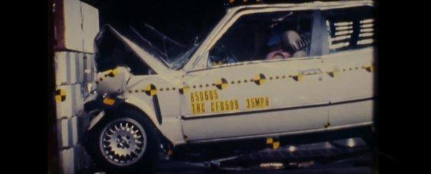 Un crash-test din 1985 realizat de NHTSA ne arata cat de sigur este BMW E30