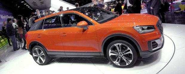 Un crossover de cinci stele. Punctaj maxim pentru noul Audi Q2 la testele Euro NCAP