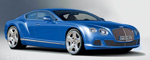 Un crossover si un coupe in 4 usi vor purta sigla Bentley