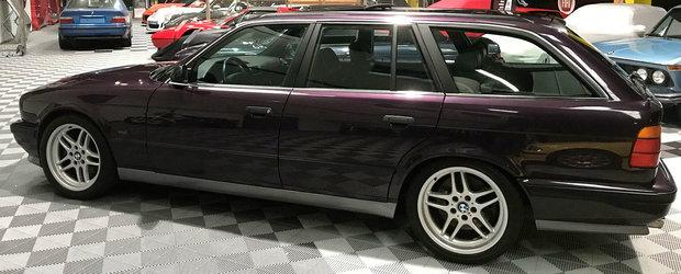 Un dealer din Franta are la vanzare un M5 Touring. Cu motor de 3.8 litri si cutie manuala