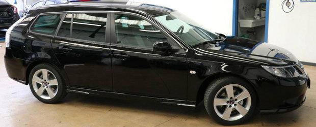 Un dealer din Italia are la vanzare un SAAB nou-nout. Cat costa masina din 2011?