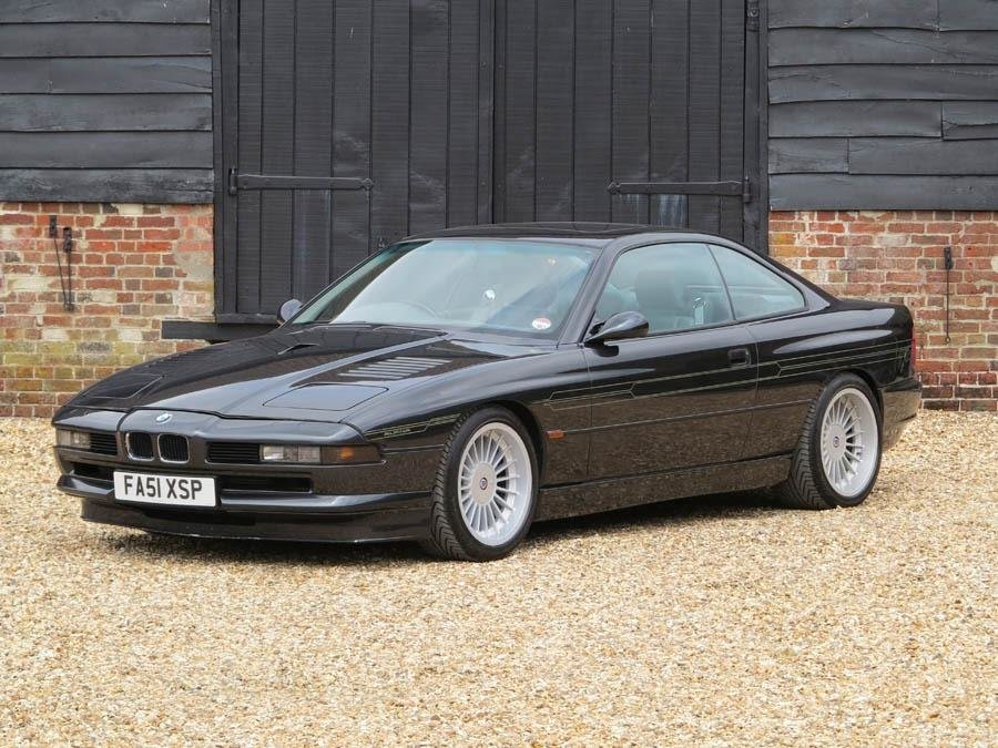 Un exemplar de BMW 850CSi modificat de Alpina este scos la vanzare