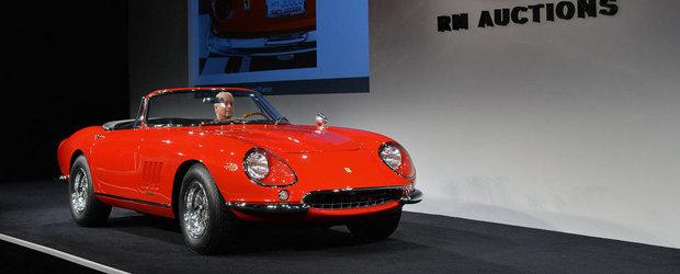 Un exemplar Ferrari 275 GTB NART Spider s-a vandut pentru 27,5 milioane de dolari!