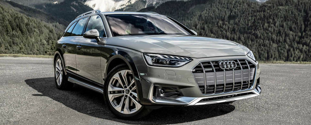 Un facelift cat o noua generatie. VIDEO cu Audi A4 Allroad pe un drum montan din Italia