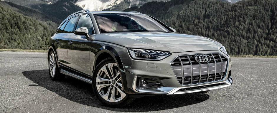 Un facelift cat o noua generatie. VIDEO cu Audi A4 Allroad pe un drum montan din Italia