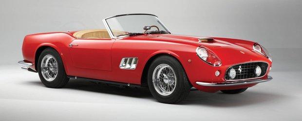 Un Ferrari 250 GT SWB California Spider este de vanzare la licitatie