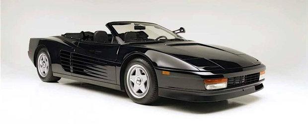 Un Ferrari unic in lume, condus de Michael Jackson intr-o reclama celebra. Cu cat se vinde acum