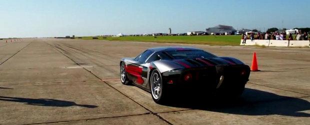 Un Ford GT de 2.000 CP accelereaza pana la 447 km/h - FILMUL COMPLET