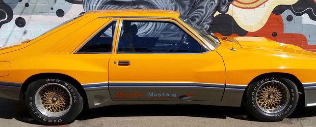 Un Ford Mustang modificat de McLaren poate fi acum al tau