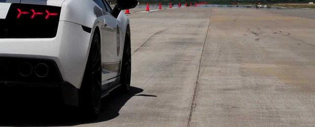 Un Gallardo TT de 1.800+ CP atinge 360 km/h pe jumatatea de mila