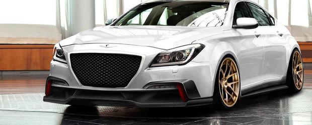 Un Hyundai Genesis de 550 CP deschide lista cu surprize marca SEMA 2014