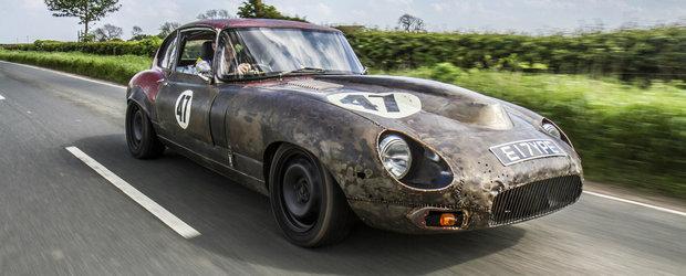 Un Jaguar E-Type cu motor BMW ne arata ce inseamna noul styling Frankenstein