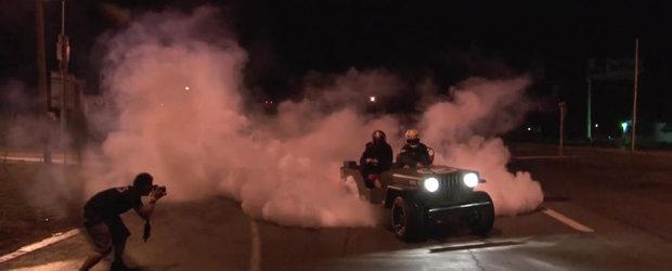 Un Jeep din Al Doilea RAzboi Mondial are 500 cp si stie sa faca burnout