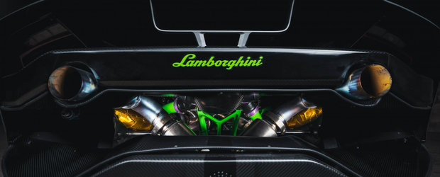 Un Lamborghini cum rar ti-e dat sa vezi. Are 1200 de cai sub capota si rupe tot pe asfalt