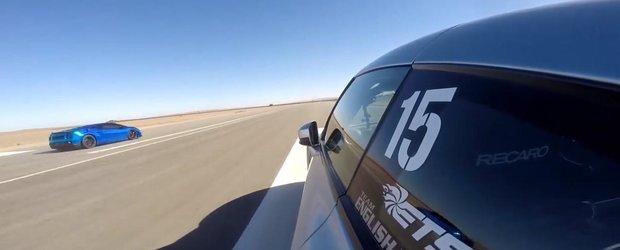 Un Lamborghini pierde controlul la 370 km/h