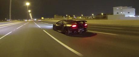 Un Lamborghini Sesto Elemento apare de nicaieri pe strazile din Qatar